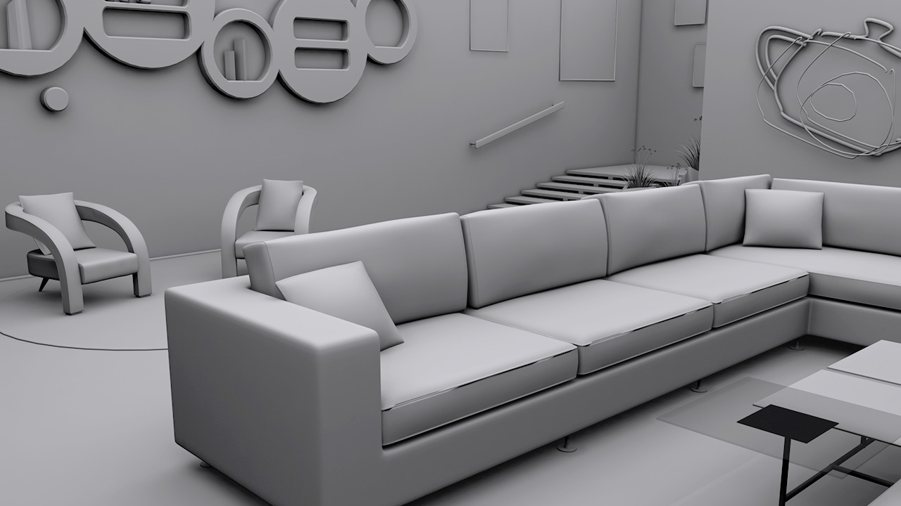 Modeling interiors in 3ds max pluralsight for Decoration 3ds max
