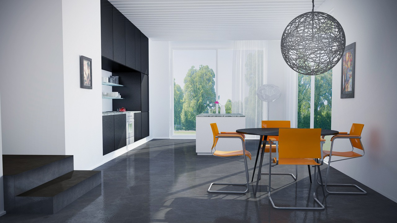 Creating a modern style interior scene in cinema 4d and v for Living room cinema 4d