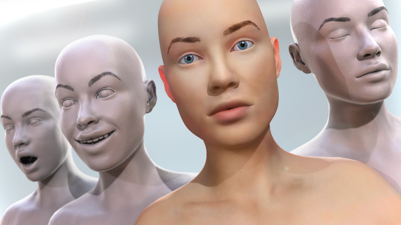 Creating Morph Targets for Facial Animation in 3ds Max and