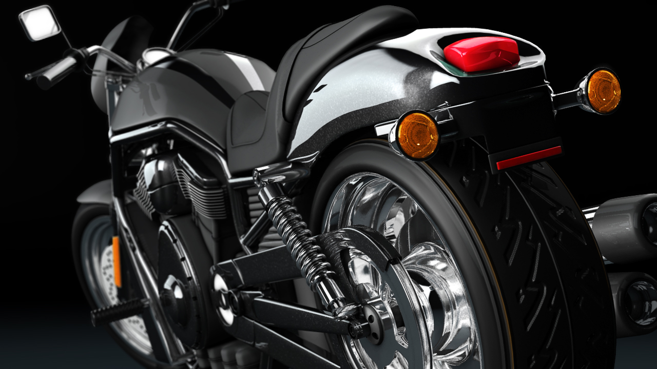 Motorcycle Modeling Techniques in Maya | Pluralsight