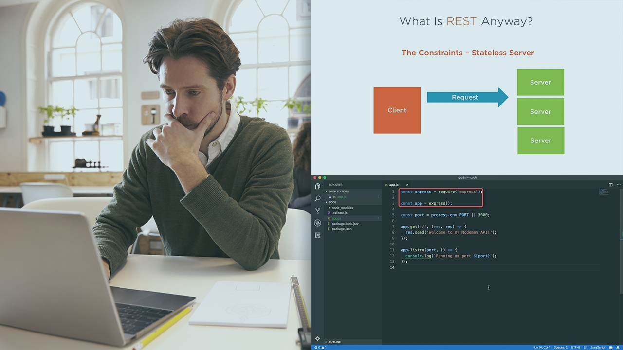 RESTful Web Services with Node js and Express | Pluralsight