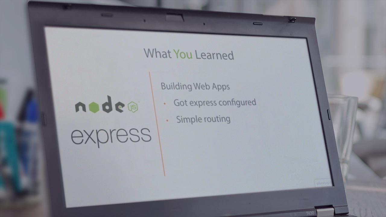 Building Web Applications with Node js and Express 4 0