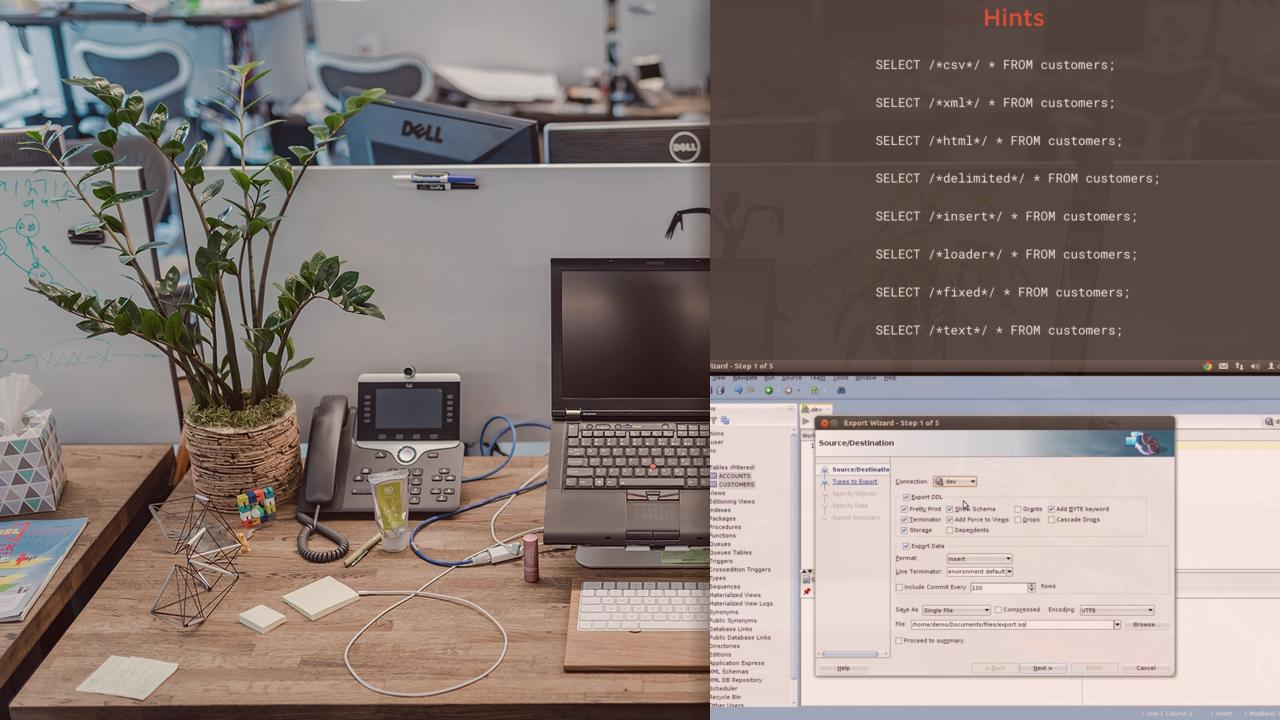 Importing and Exporting Oracle Data for Developers | Pluralsight