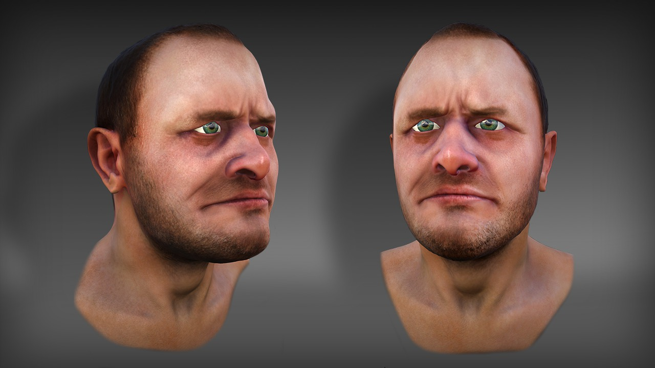 Painting Realistic Skin Textures in ZBrush and Marmoset