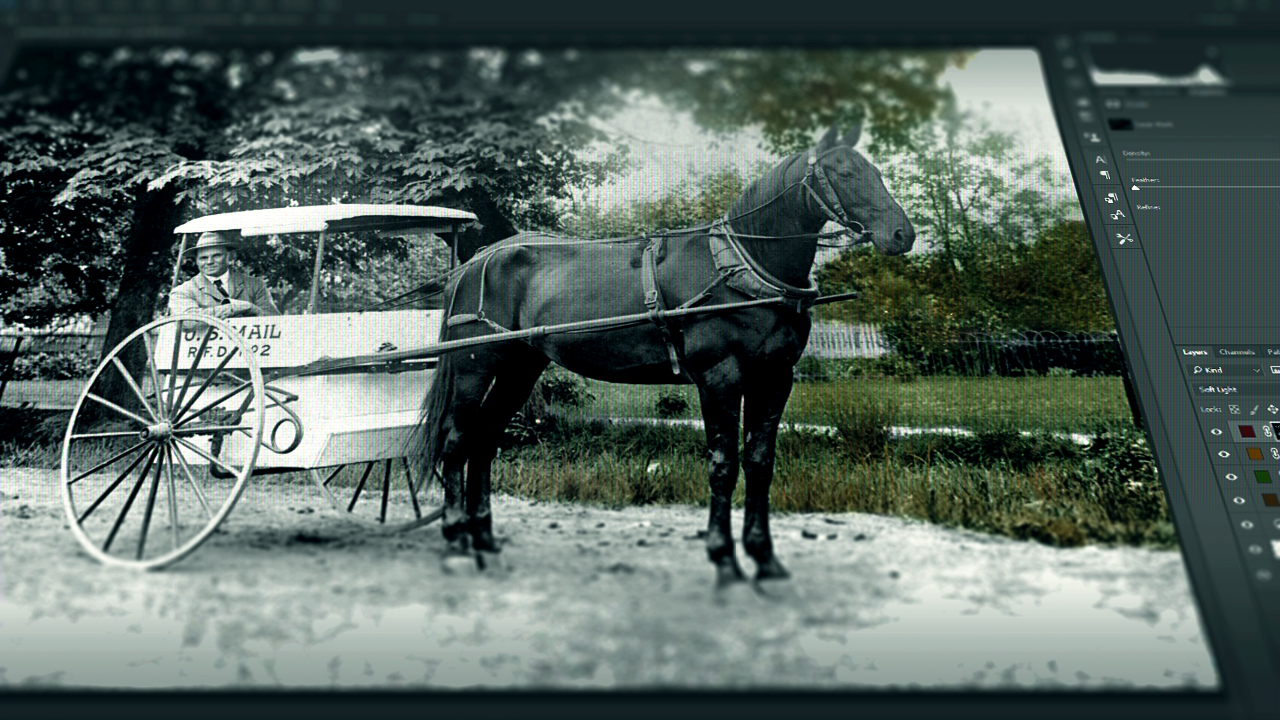 Learn How To Colorize Black Amp White Photos Pluralsight