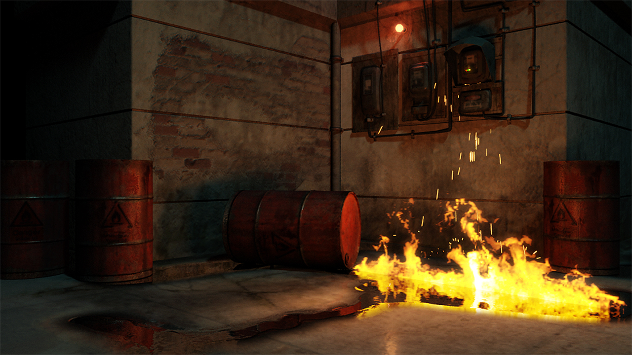 creating realistic fire and sparks in maya pluralsight