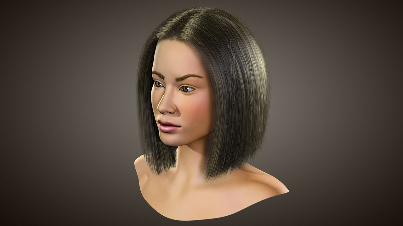 Realistic Hairstyling In 3ds Max And Hair Farm Pluralsight