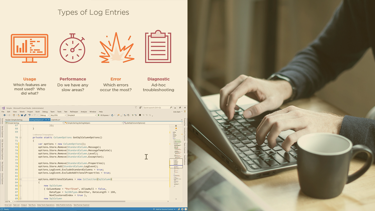 Routing Serilog Log Entries with Filters and Formatters