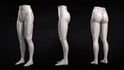 Sculpting Female Legs in ZBrush