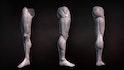 Sculpting Human Legs in ZBrush