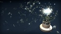 Simulating a Shattering Light Bulb in Maya