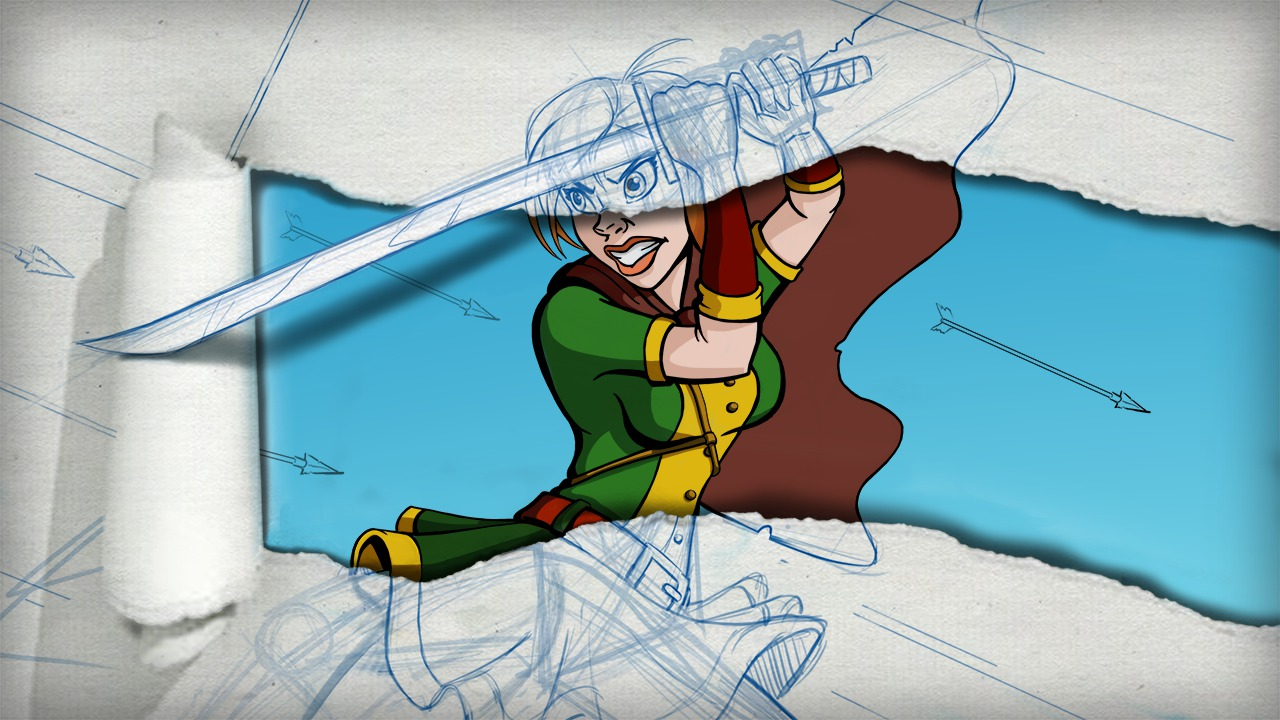 Sketching Dynamic Action Poses In Photoshop Pluralsight