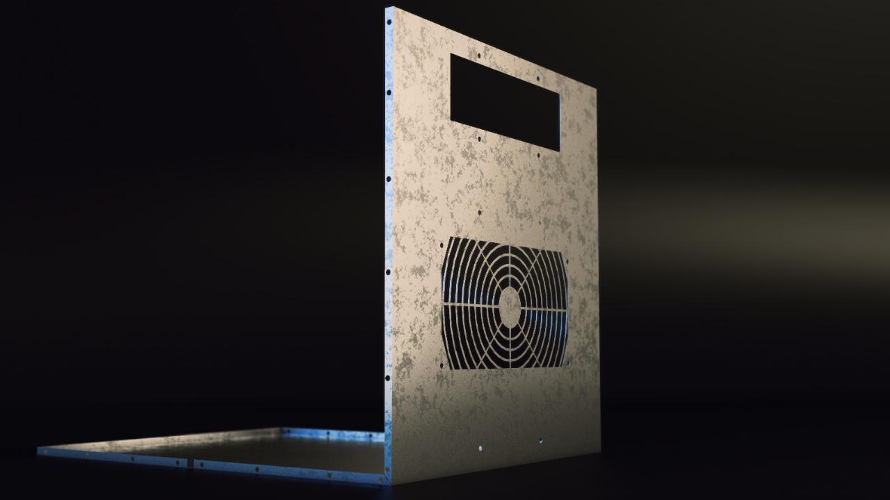 Solidworks Sheet Metal Enclosure Part Design Pluralsight