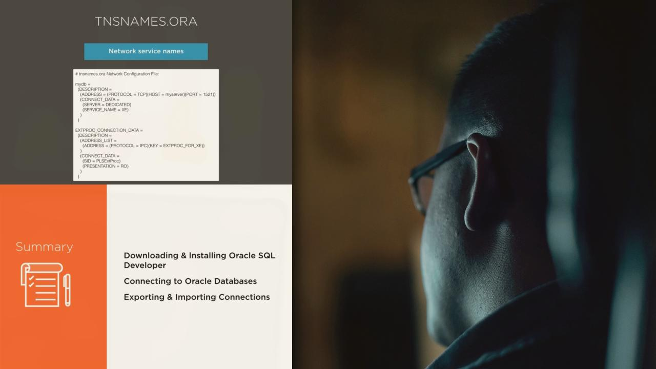 Getting Productive with SQL Developer | Pluralsight