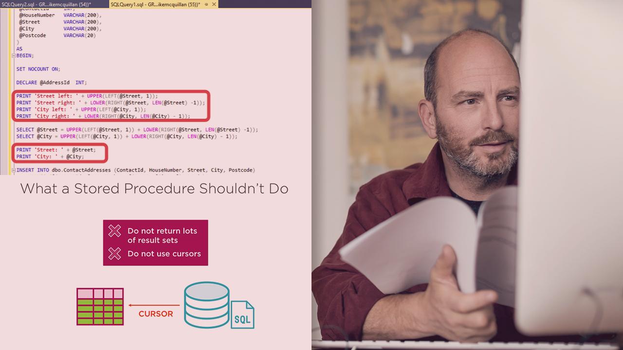 Programming SQL Server Database Stored Procedures | Pluralsight