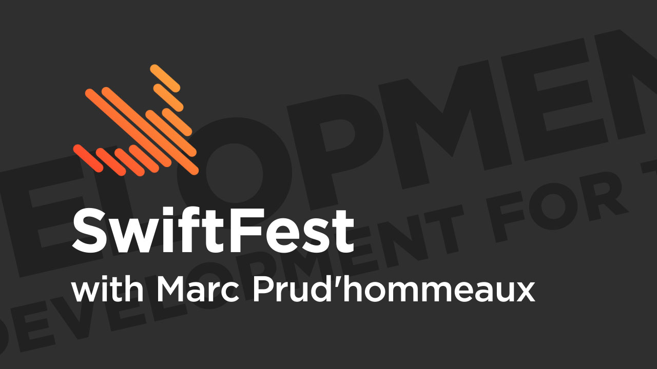 SwiftFest Boston '19: SwiftUI: Declarative UI Development for the Modern Era