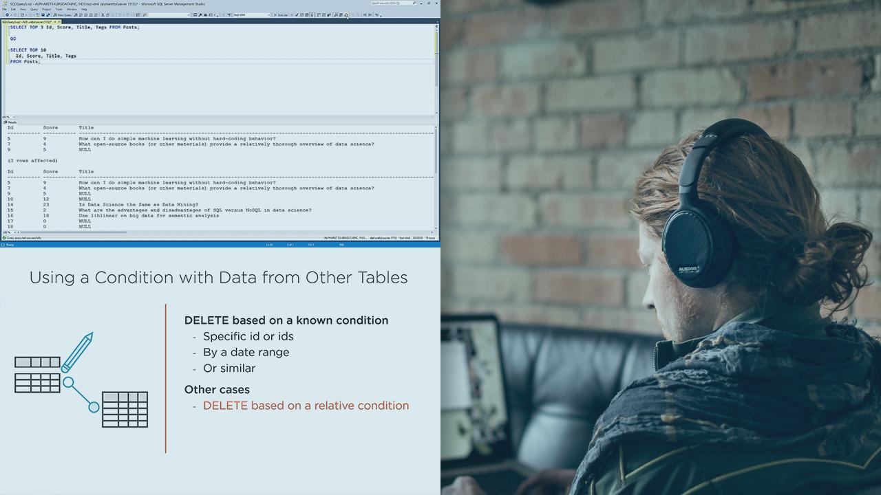T-SQL Data Manipulation Playbook