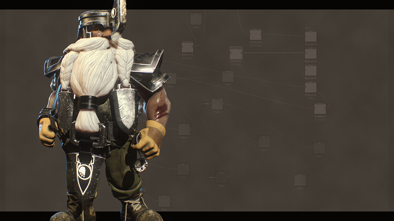 Texturing a Game Character in Substance Painter and Designer