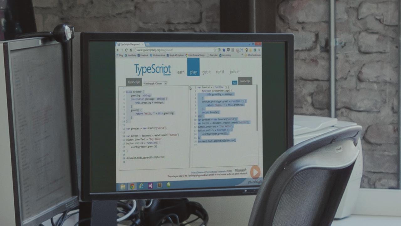 TypeScript Fundamentals | Pluralsight