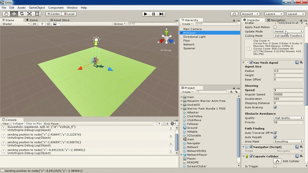 Unity Multiplayer Game Development with Node | Pluralsight