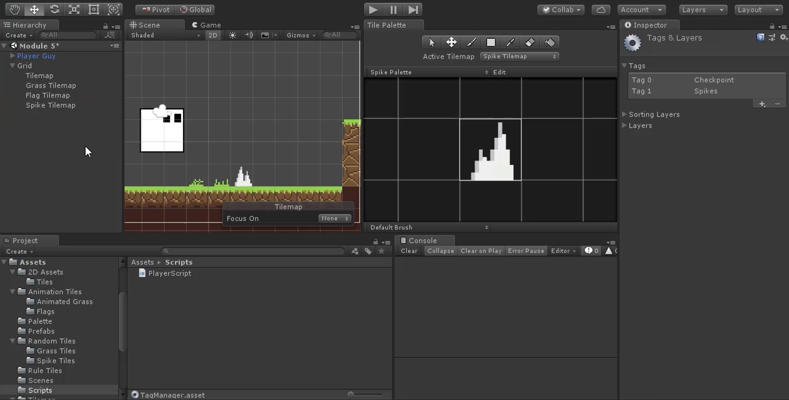 Getting Started with Tilemap in Unity | Pluralsight
