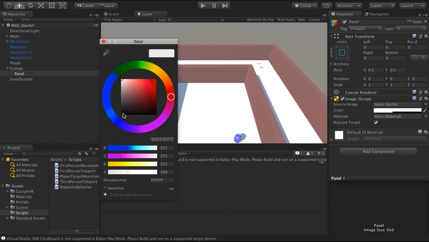 Unity VR Locomotion Fundamentals | Pluralsight