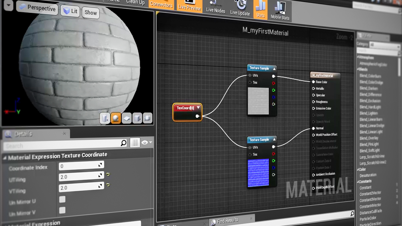 Unreal Engine 4 Materials Fundamentals | Pluralsight