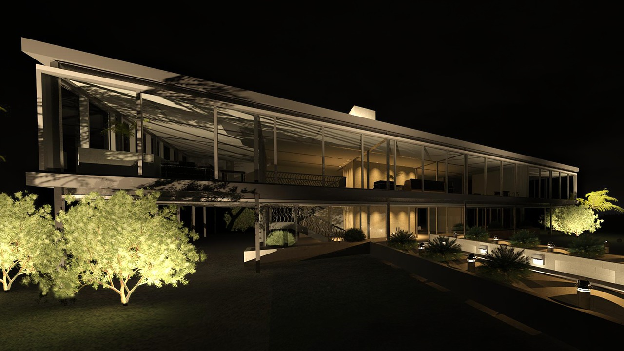 Using Exterior Lighting To Create A Night Scene Rendering In Revit Pluralsight