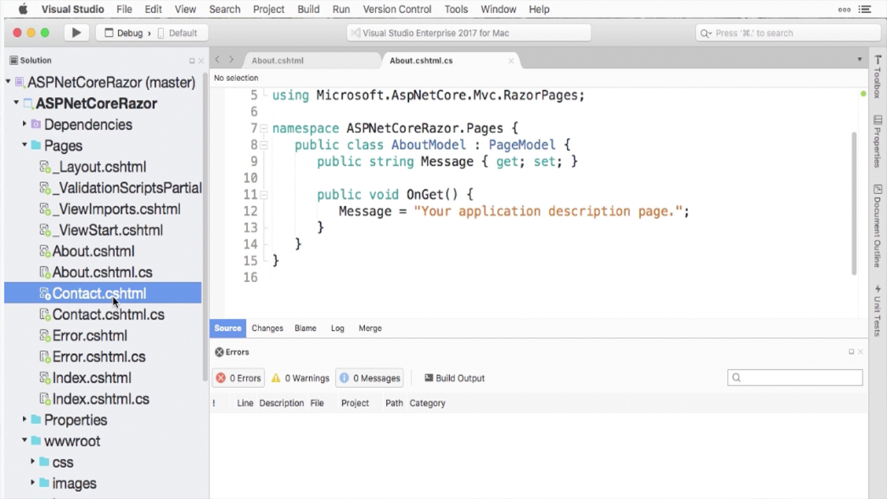 How to Use Visual Studio Mac: Tutorials & Guides | Pluralsight