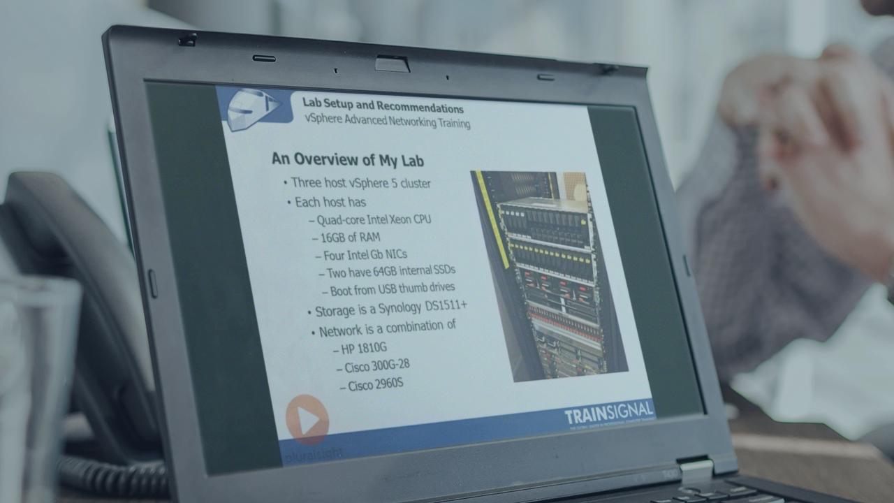 VMware vSphere Advanced Networking | Pluralsight