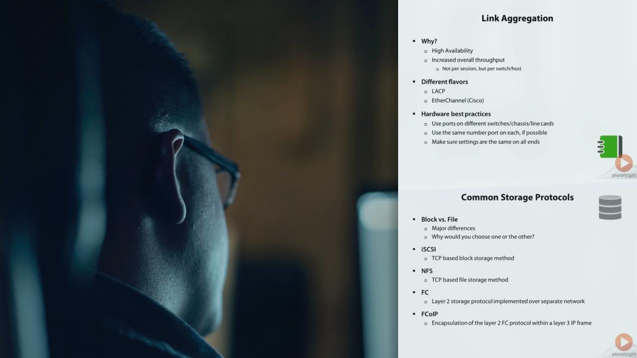 VMware vSphere Networking | Pluralsight