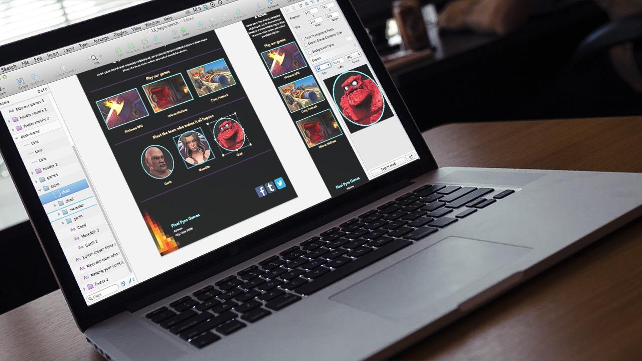 Website Planning and Design in Sketch | Pluralsight