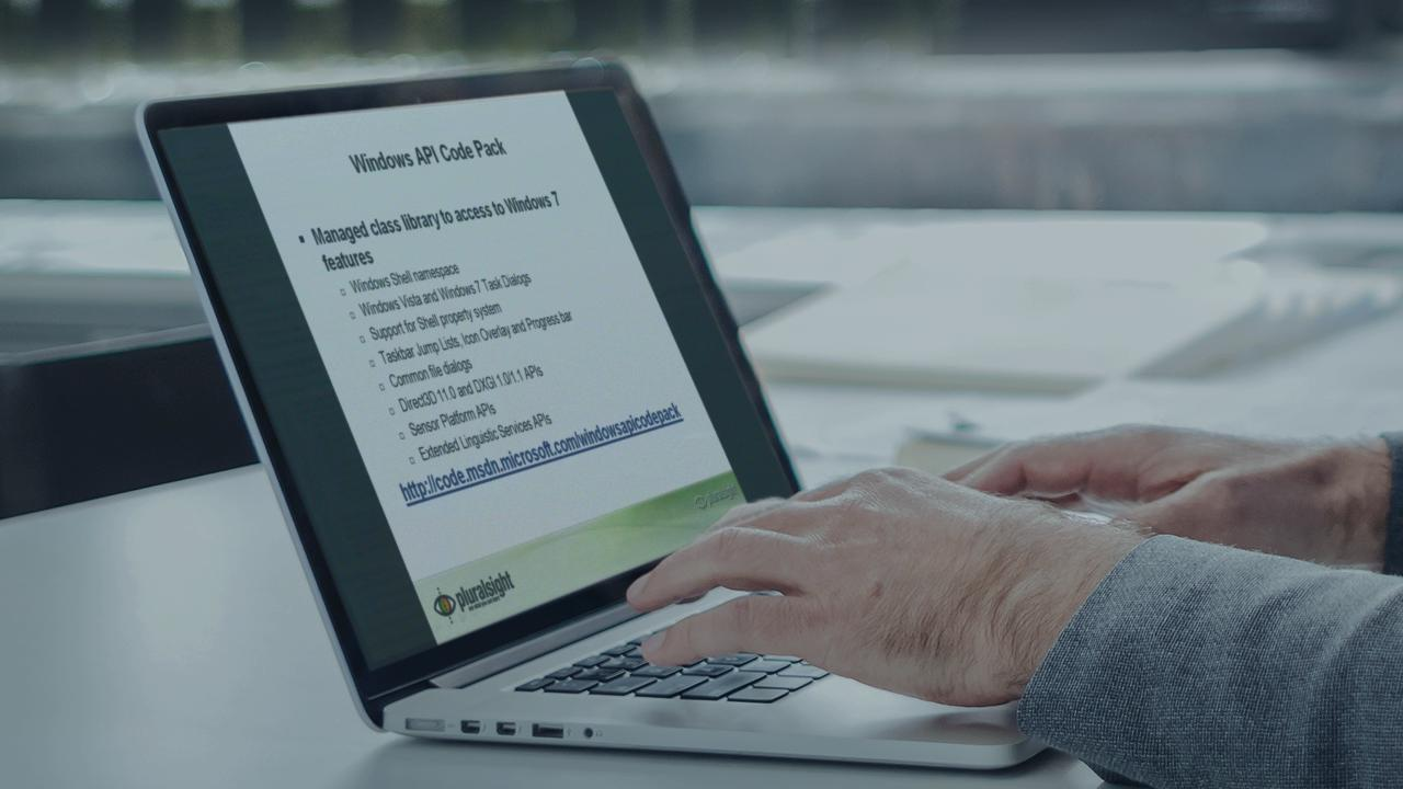 Introduction to Windows 7 Development   Pluralsight