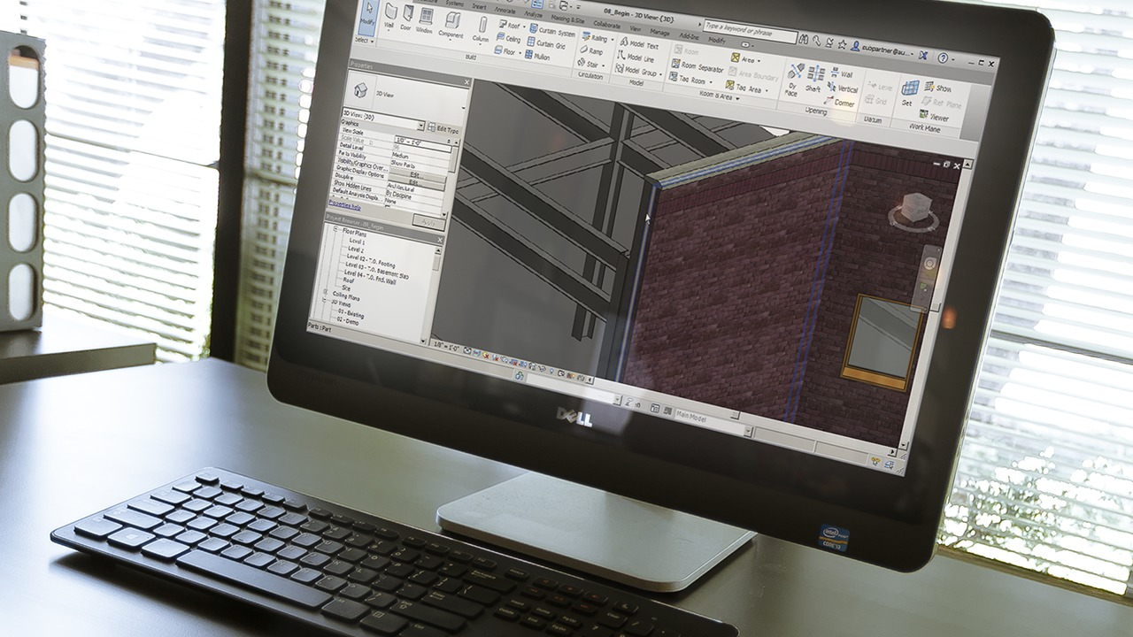 Working in the Construction Template in Revit   Pluralsight