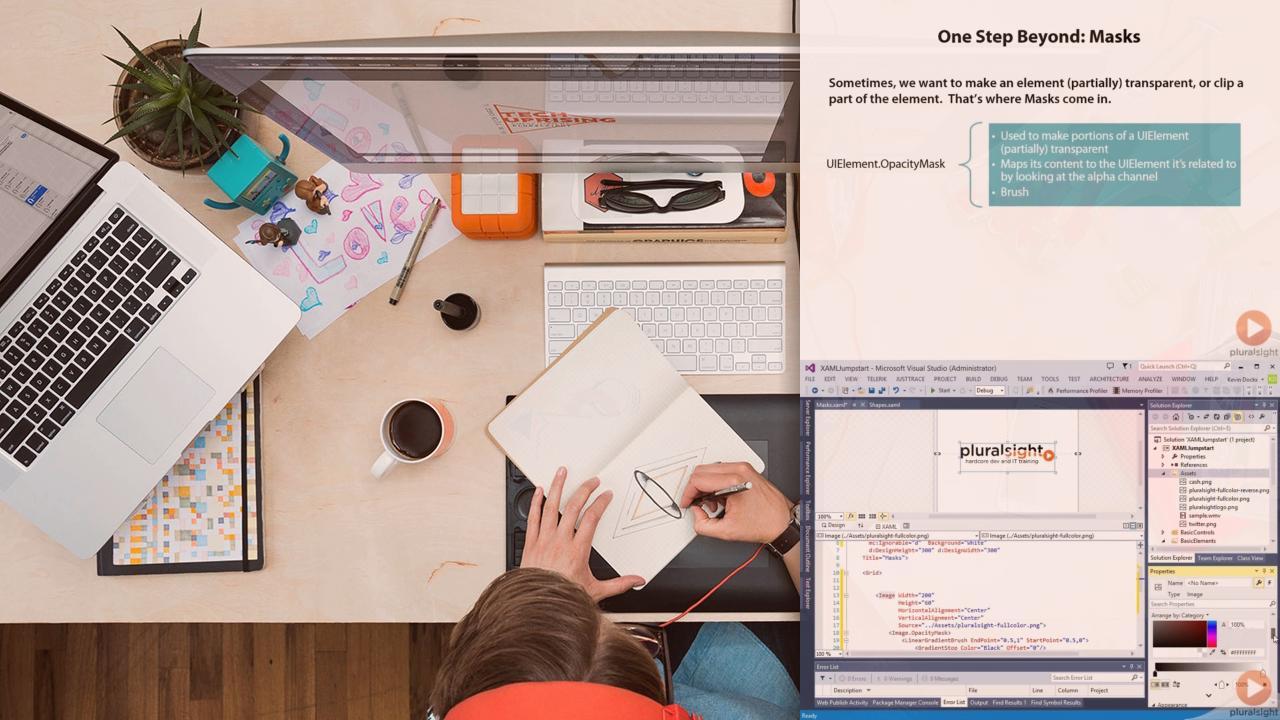 XAML Jumpstart: Getting Started With XAML | Pluralsight