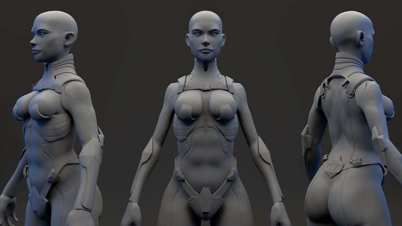 ZModeler Character Workflows in ZBrush and Maya | Pluralsight